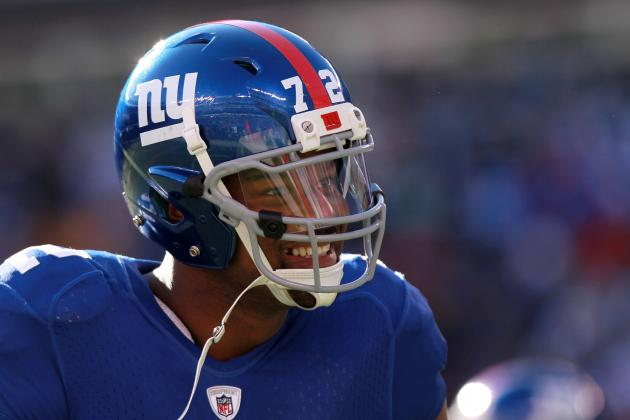 "Osi Umenyiora Says Goodbye; Thanks All the ""Real"" New York Giants Fans"