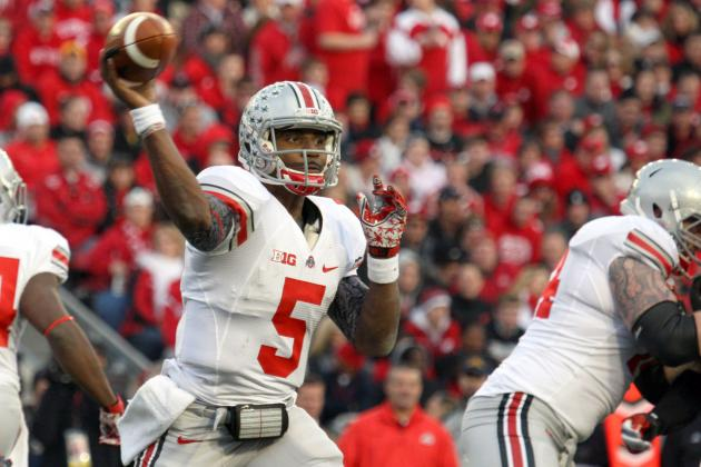 Braxton Miller Still 'Not the Best Fundamental Quarterback in the Country'