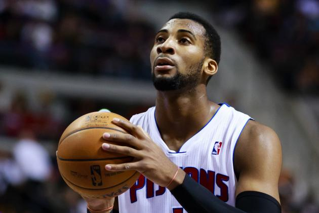Andre Drummond Makes First NBA Start for Detroit Pistons Tonight