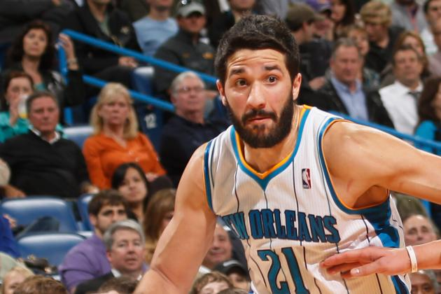 New Orleans Hornets Guard Greivis Vasquez to Miss Friday Night's Game