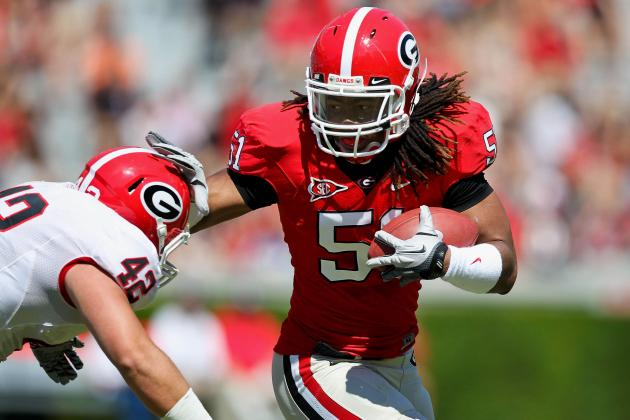Georgia ILB Position Taking Shape