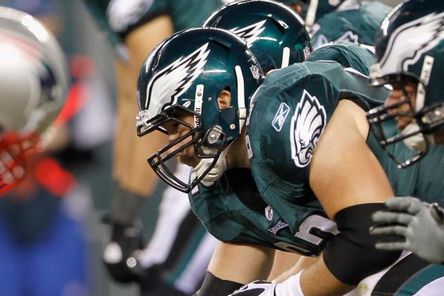 Eagles O-Linemen on Mend from 2012 Injuries