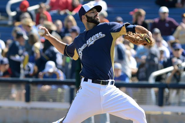 Mike Fiers Expected to Lose Rotation Spot to Kyle Lohse