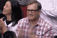Drew Carey Celebrates Ohio State Win with