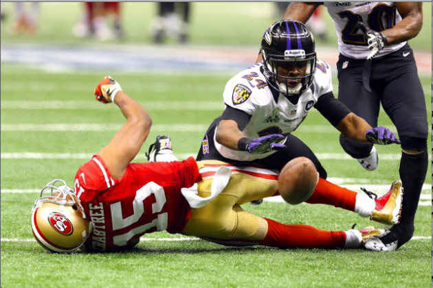Michael Crabtree Claims He Was Temporarily Blinded by Hit in Super Bowl