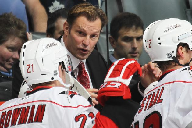 Kirk Muller Must Take More Responsibility for Carolina Hurricanes' Slump