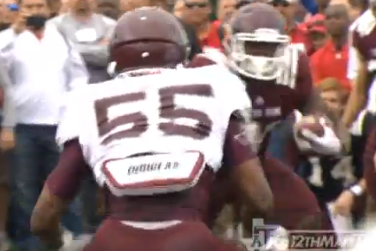 Watch: A&M Runs the 'Tunnel of Truth' Drill at Spring Practice