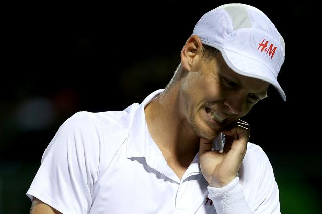 Berdych to Miss Davis Cup Quarters with Shoulder Injury