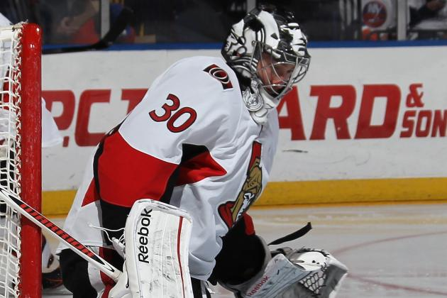 Bishop Collects Shutout as Sens Stymie Rangers