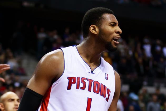 Andre Drummond to Make First NBA Start for Detroit Pistons Tonight