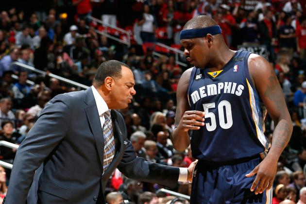 Zach Randolph, Lionel Hollins Deny There Is a Rift Between Them