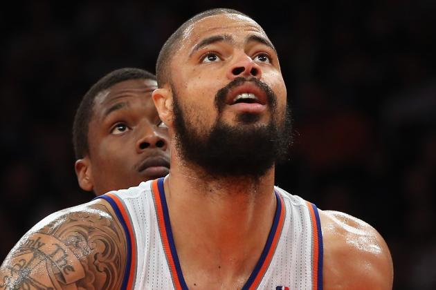 Tyson Chandler Questionable vs. Bobcats