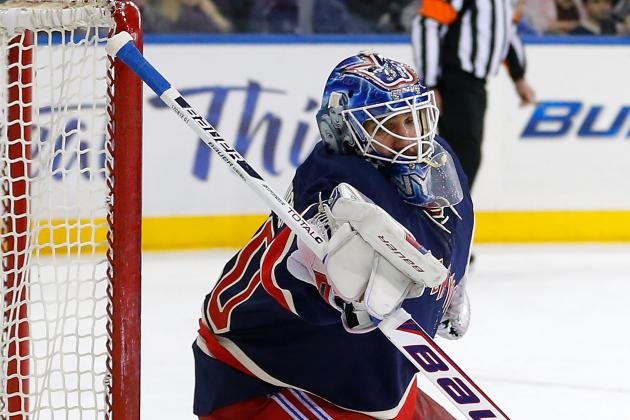 NY Rangers Goalie Henrik Lundqvist Says Pressure's on the Pittsburgh Penguins