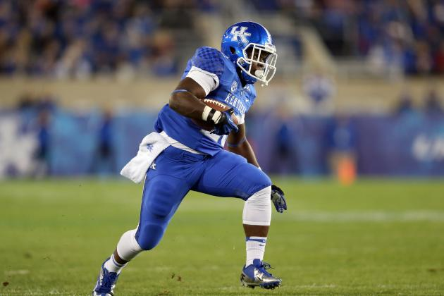 Veteran RB Sanders Adapting Quickly to New Kentucky Offense