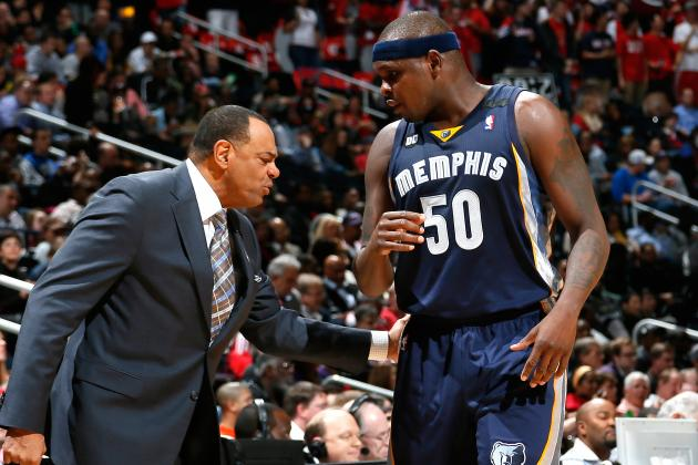 Zach Randolph, Lionel Hollins Deny Rumors of Rift