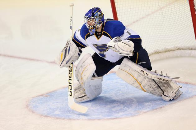 Blues Assign Brian Elliott to Peoria Rivermen on Conditioning Assignment