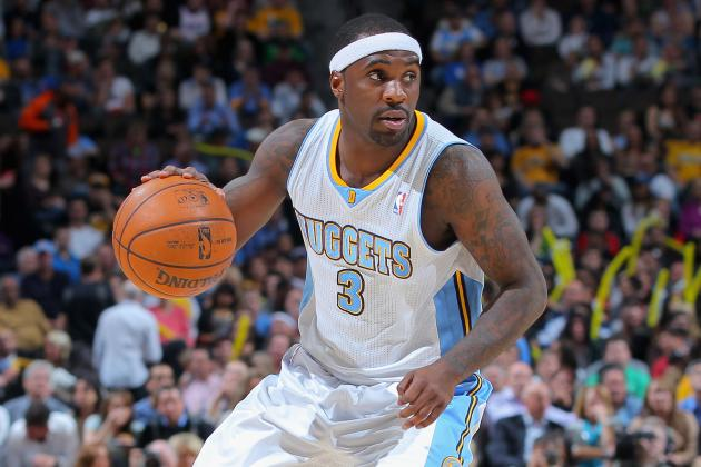 Nuggets Point Guard Ty Lawson out with Heel Injury