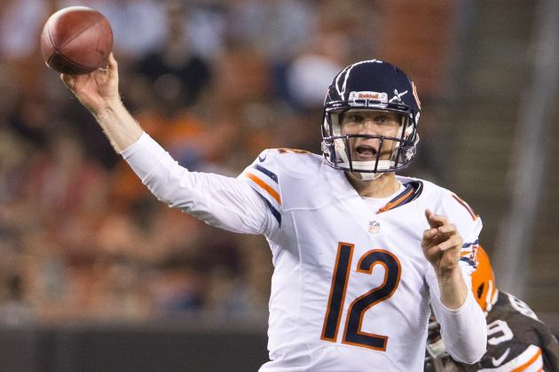 Bears Sign a Quarterback Too, but for a Lot Less