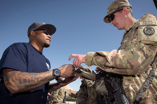 USO Tour Impacts Steve Smith