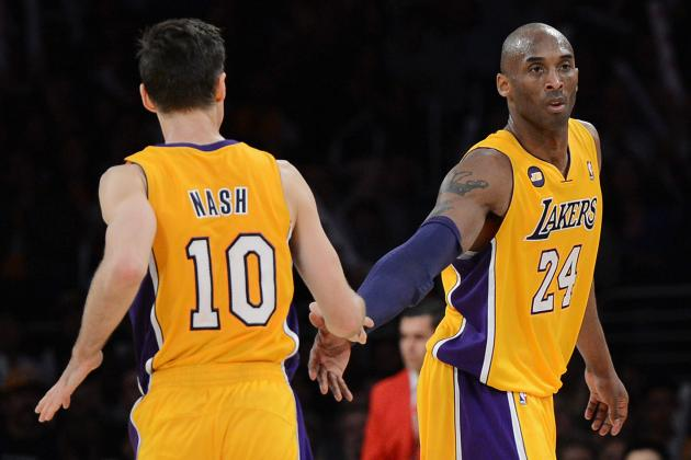 Kobe Bryant Probable for Saturday; Nash Questionable