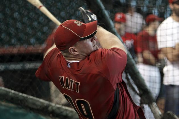 J.J. Watt Hits Five BP Home Runs with Astros
