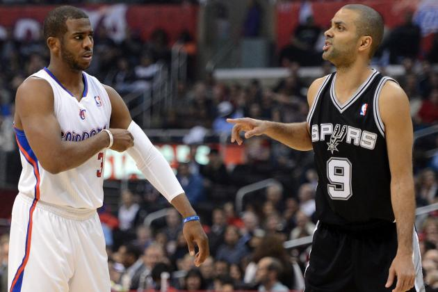 NBA Gamecast: Clippers vs. Spurs