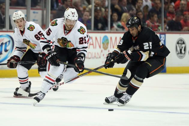 Anaheim Ducks vs. Chicago Blackhawks: GameCast