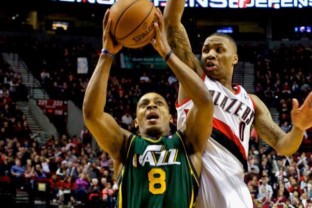 NBA Gamecast: Jazz vs. Blazers