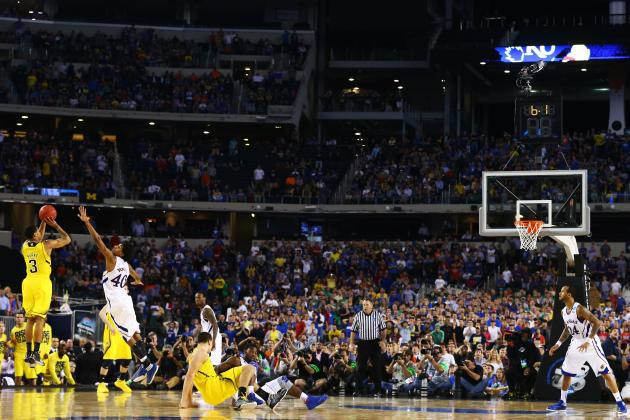 Video: Burke's Clutch Game-Tying 3 Forces OT