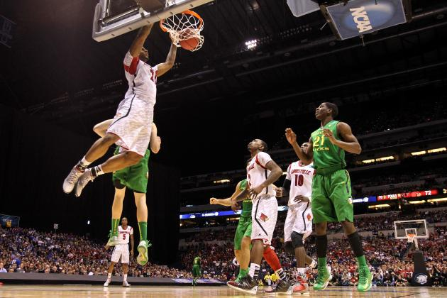 Sweet Sixteen: Louisville Eliminates Oregon