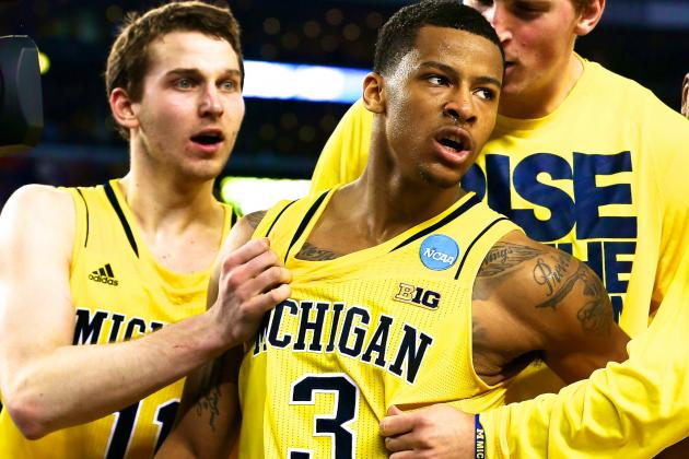 Michigan Shocks No. 1 Seed Kansas in OT with Comeback Win