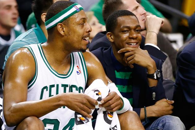Celtics Take Down Hawks Behind Pierce's Triple Double