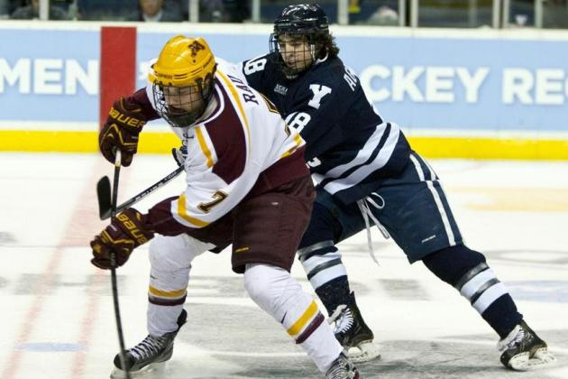 Yale Upset of Minnesota Part of First-Day Activity in NCAA Tournament