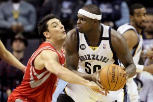 Rockets Outmuscled by Grizzlies