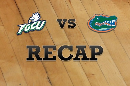 Florida Gulf Coast vs. Florida: Recap, Stats, and Box Score
