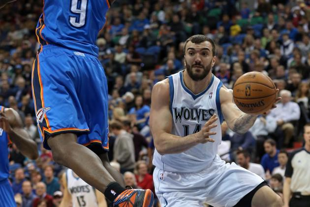 Pekovic, Rubio Lead Wolves to Upset of Thunder