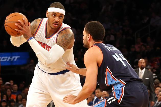 What Must Carmelo Anthony Do to Meet Expectations for New York Knicks?