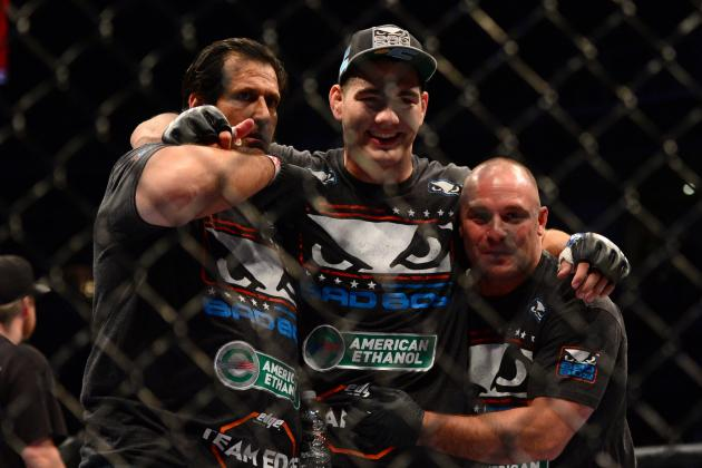 Why Fans Want Weidman and Hendricks to Beat Silva and GSP