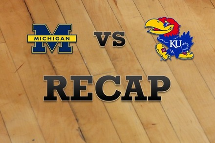 Michigan vs. Kansas: Recap, Stats, and Box Score
