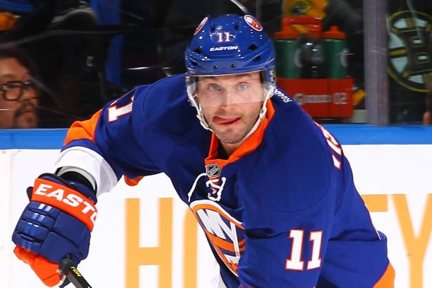Defenseman Lubomir Visnovsky Agrees to 2-Year Extension with Islanders