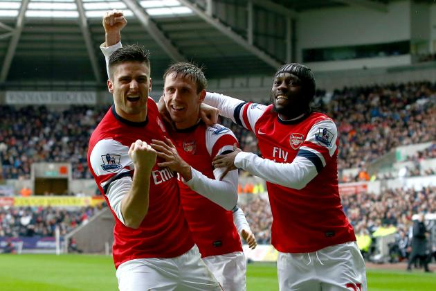 Olivier Giroud Says Key Men Must Stay If Arsenal Are to Compete