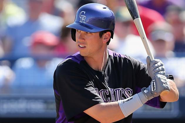Rockies Send Tyler Colvin to Triple-a
