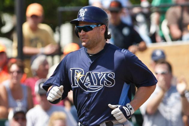 Luke Scott Likely Headed for Disabled List with Calf Strain