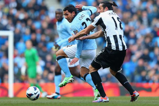 Manchester City vs. Newcastle United: Premier League Live Score, Highlights