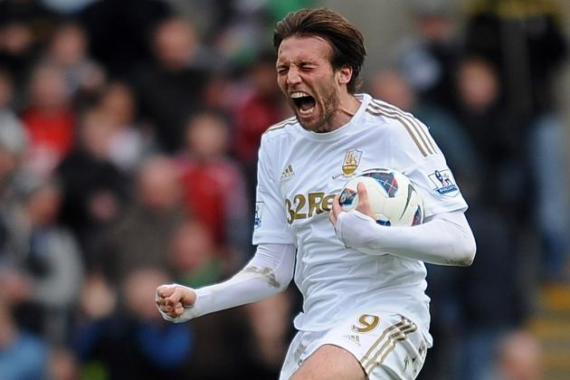 Michu Pulls One Back for Swansea