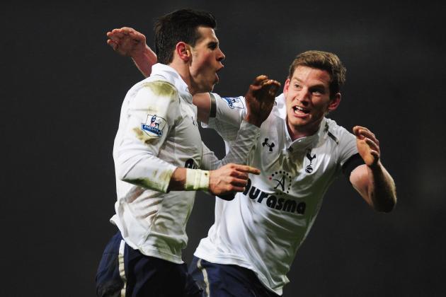 Swansea 1-2 Tottenham: Spurs to Third