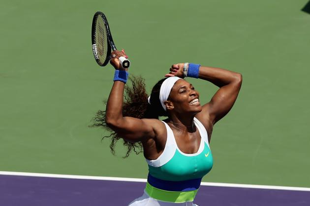 Serena Williams Defeats Maria Sharapova to Win 6th Sony Open Title