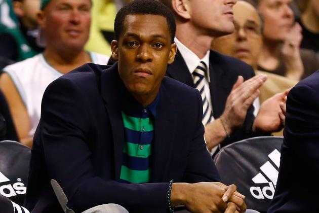 Rajon Rondo Gives Teammates A Nice Emotional Boost in Return To Bench