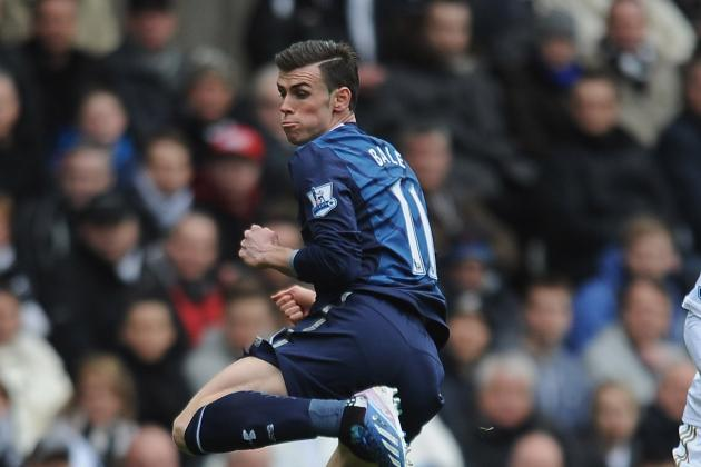 Football: Brilliant Bale Fires Spurs into Third