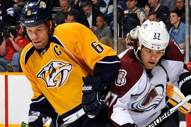 ESPN Gamecast: Nashville Predators vs. Colorado Avalanche